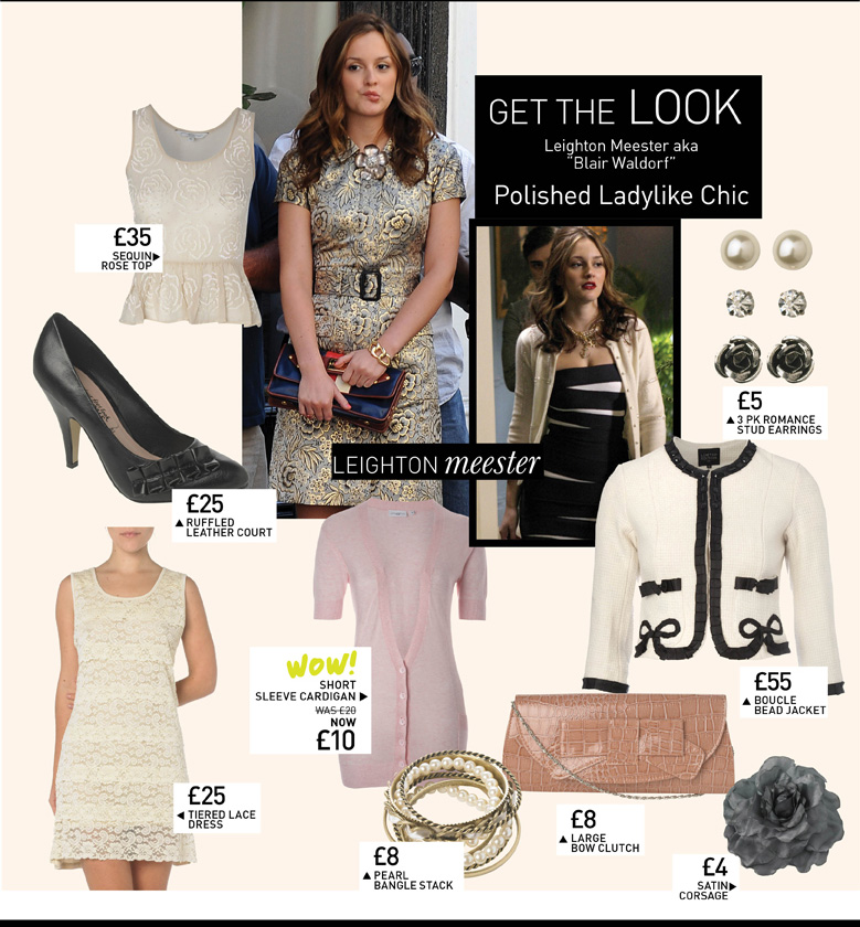 "Get the Look - Leighton Meester aka ""Blair Waldorf"" - Polished Ladylike Chic"