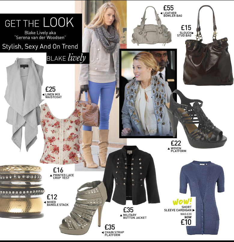 "Get the Look - Blake Lively aka ""Serena van der Woodsen"" - Stylish, Sexy and On Trend"